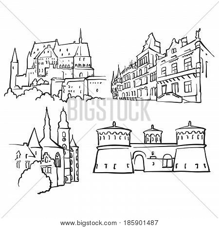Luxembourg Luxembourg Famous Buildings