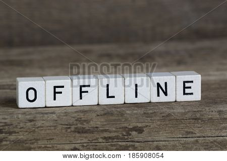 Offline, Written In Cubes