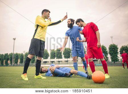 Soccer fouls