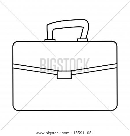 business portfolio document file paper case vector illustration
