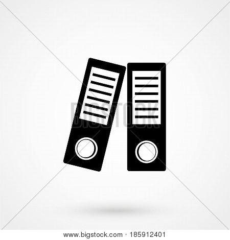 Binders Vector Icon