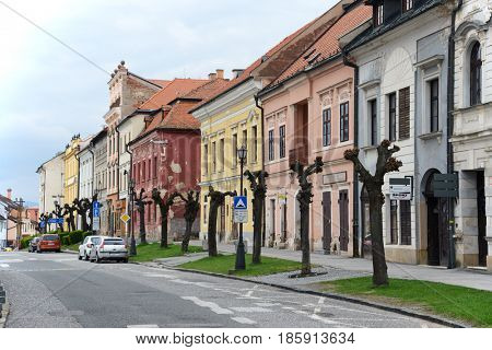 Levoca, Slovakia. April 29, 2017. Old architecture