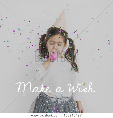 Make a Wish Happiness Celebration Joyful