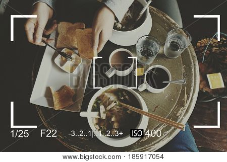 Camera Viewfinder Capture Snapshot Vector Illustration Graphic
