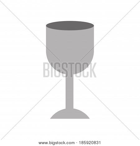 white background with fragile packaging symbol glass vector illustration