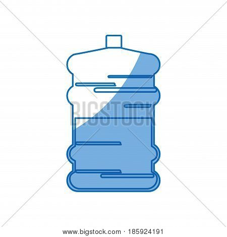 big bottle water fresh natural design vector illustration