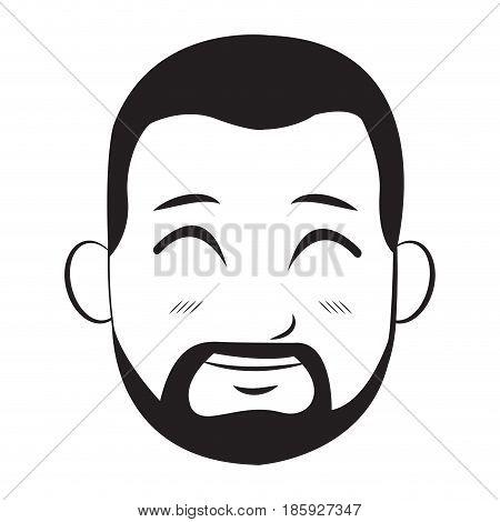 cartoon character man young person vector illustration