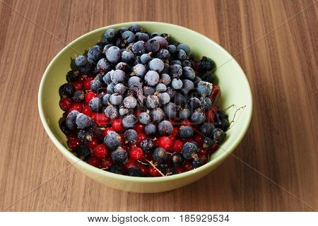 Frozen Currant Berries