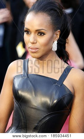 Kerry Washington at the 88th Annual Academy Awards held at the Hollywood & Highland Center in Hollywood, USA on February 28, 2016.