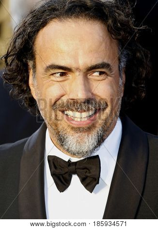 Alejandro Gonzalez Inarritu at the 88th Annual Academy Awards held at the Hollywood & Highland Center in Hollywood, USA on February 28, 2016.