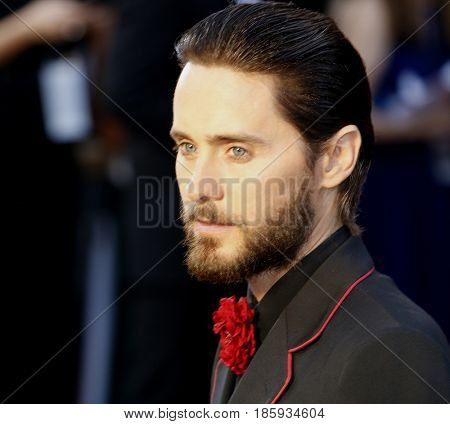 Jared Leto at the 88th Annual Academy Awards held at the Hollywood & Highland Center in Hollywood, USA on February 28, 2016.