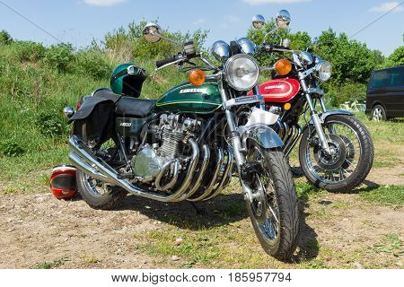 PAAREN IM GLIEN GERMANY - MAY 19: Standard (muscle bike) Kawasaki Z900