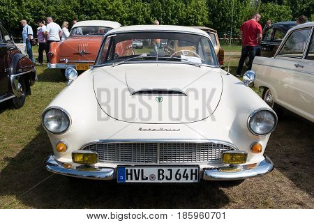 Paaren Im Glien, Germany - May 19: German Sports Car Auto Union 1000 Sp Coupe,