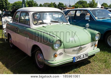 Paaren Im Glien, Germany - May 19: The East German Car Trabant P50 (1959),