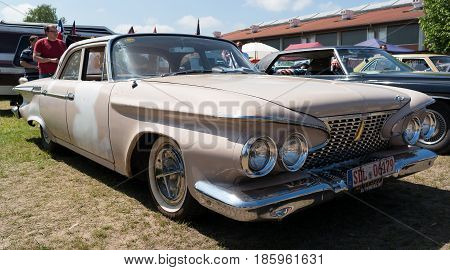 Paaren Im Glien, Germany - May 19: Car Plymouth Belvedere Sedan (1961),