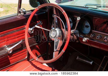 Paaren Im Glien, Germany - May 19: Cab Full-size Car Rambler Ambassador 990,