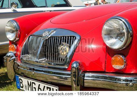 PAAREN IM GLIEN GERMANY - MAY 19: British sports car MG A 1600 Mark II