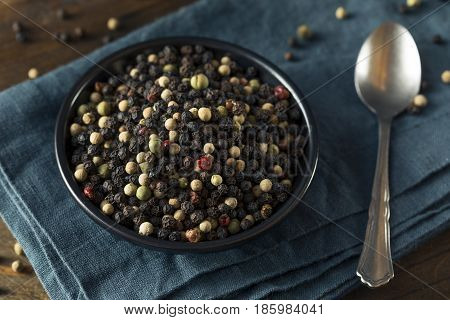 Raw Organic Mixed Peppercorns