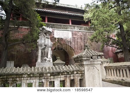 Chinese City Gate
