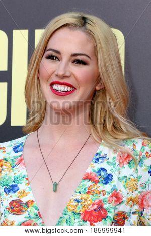LOS ANGELES - MAY 10:  Kelsey Darragh at the