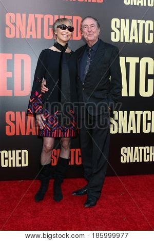 LOS ANGELES - MAY 10:  Tania Kosevich, Eric Idle at the