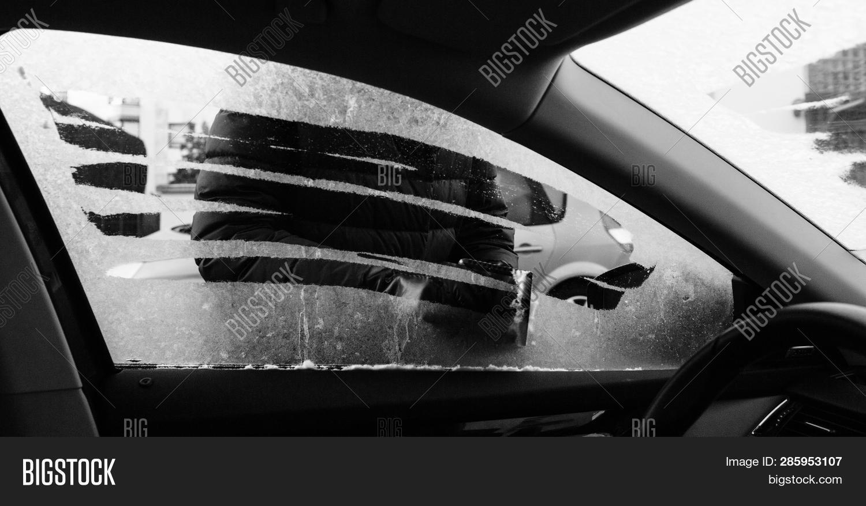 View Inside Car Woman Image Photo Free Trial Bigstock