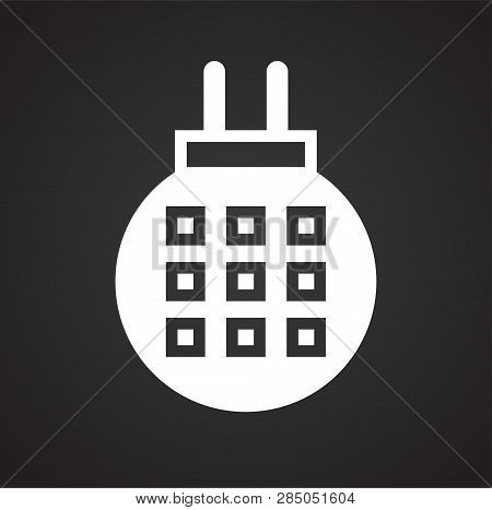 Fumigator Icon On Black Background For Graphic And Web Design, Modern Simple Vector Sign. Internet C
