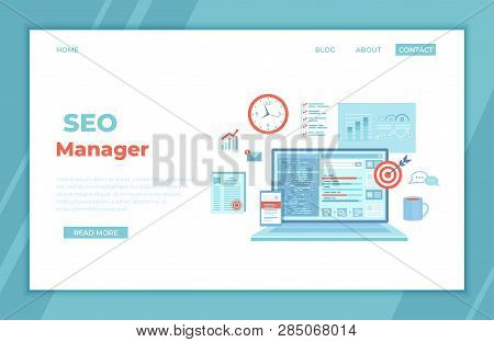 Seo Manager, Key Management, Content Marketing. Coordinating And Implementing Search Engine Marketin