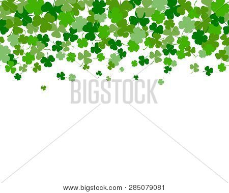 St. Patrick's Day Horizontal Seamless Background