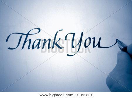 Callligraphy vielen Dank