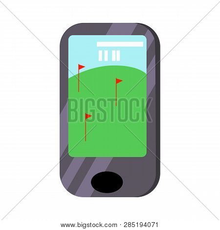 Mobile Phone Golf Vector & Photo (Free Trial) | Bigstock