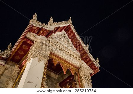 The Temple Was Built In A Classical Thai Architectural Style In The Same Fashion As The Temple Of Th