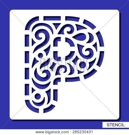 Stencil  Alphabet  Vector & Photo (Free Trial) | Bigstock
