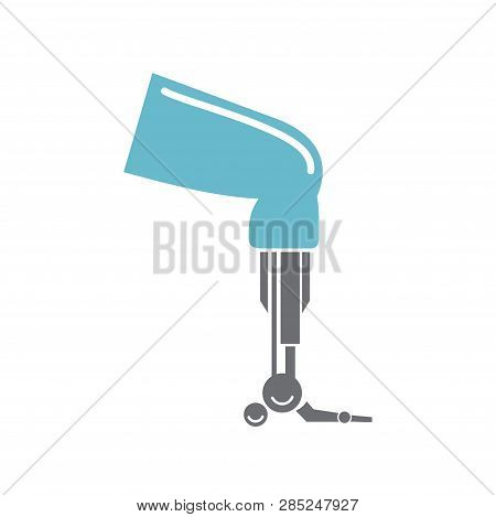 Bionic Prothesis Icon On White Background For Graphic And Web Design, Modern Simple Vector Sign. Int