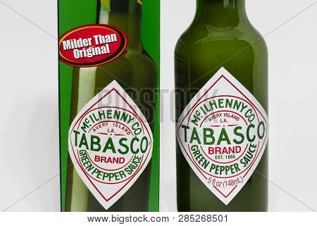 Tabasco Sauce By Mcilhenny Company And Trademark Logo
