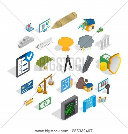 Feedback Loop Icons Set. Isometric Set Of 25 Feedback Loop Vector Icons For Web Isolated On White Ba