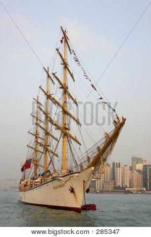 Boat In Hong Kong