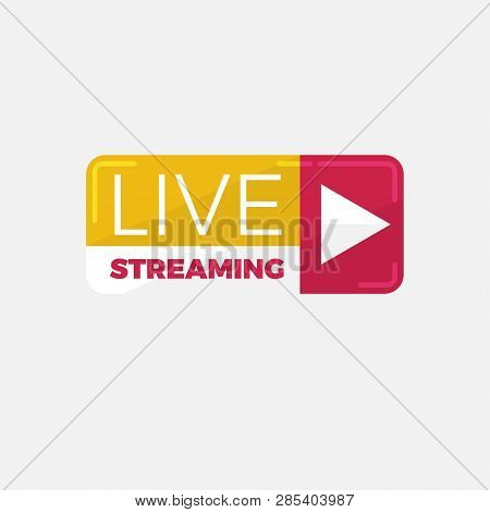 Live Streaming Logo Vector & Photo (Free Trial) | Bigstock