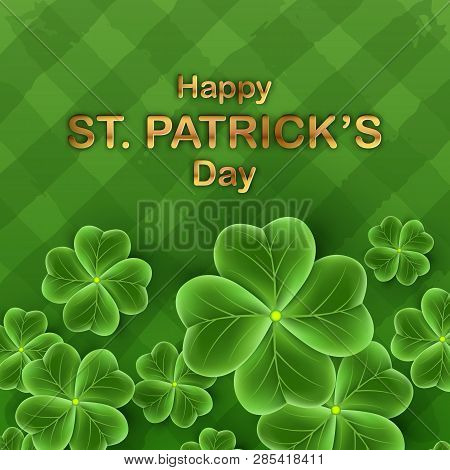 San Patricks Day Card Vector Photo Free Trial Bigstock