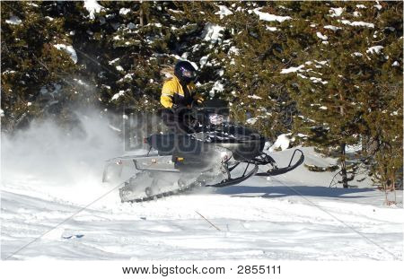Snowmobile Girl
