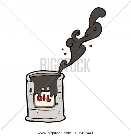 oil spill cartoon