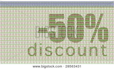 Discount Coupon -50%