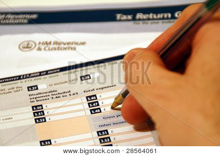 Tax Return Form