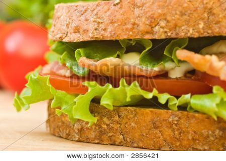 Blt Sandwich Close Up
