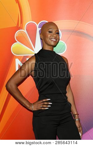 LOS ANGELES - FEB 20:  Dr. Imani Walker at the NBC's Los Angeles Mid-Season Press Junket at the NBC Universal Lot on February 20, 2019 in Universal City, CA