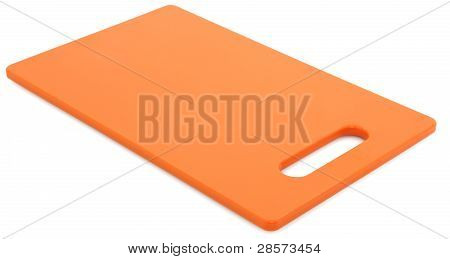 Orange Cutting Board