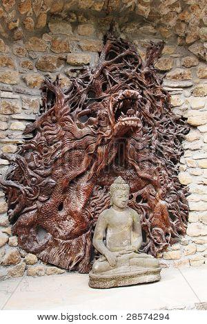 buddhist monastery of Pomaia, Italy