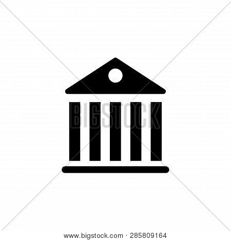 Government Pantheon Building  Icon. Signs And Symbols Can Be Used For Web, Logo, Mobile App, Ui, Ux