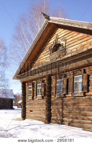 Winter In Old Village