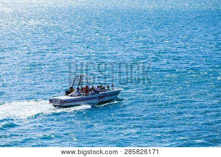 Nassau, Bahamas - February 28, 2016: The National Marine Manufacturers Association Identifies 32 Dif